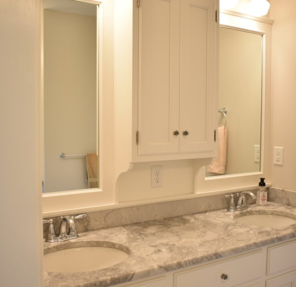 Traditional bathroom Lancaster PA home remodel