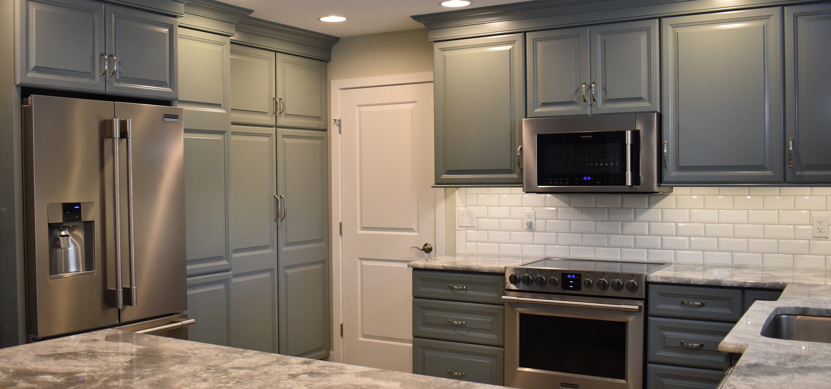 Rm kitchens inc custom cabinet makers installers in for Bathroom cabinets yelp