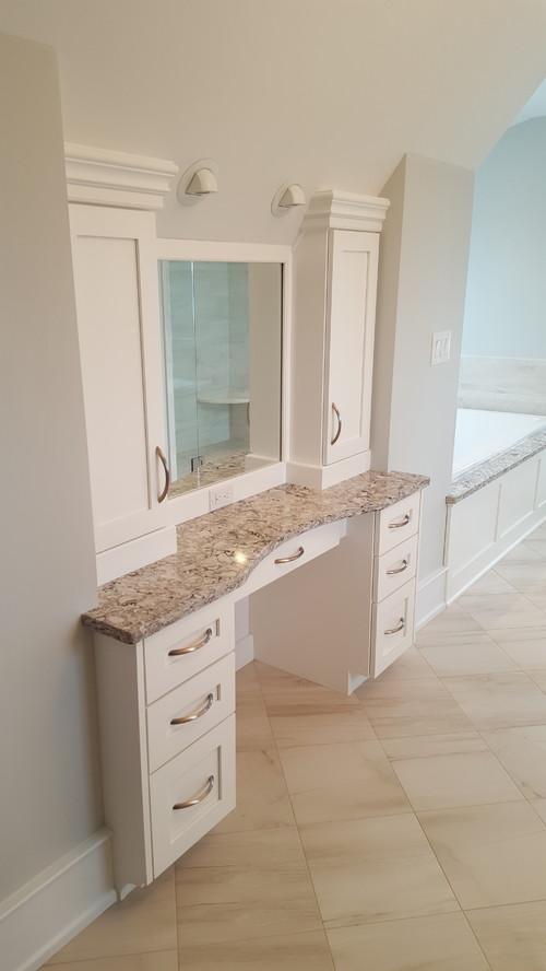 Custom Bathroom Vanity Cabinets (Made in USA) - RM Kitchens